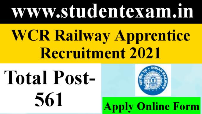 WCR Apprentice Recruitment 2021