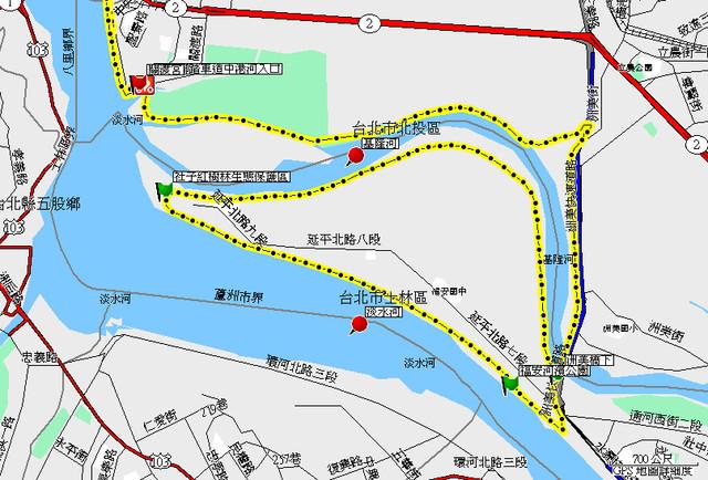 影麻吉 Image: 社子島自行車步道