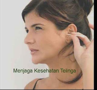Menjaga Kesehatan Telinga