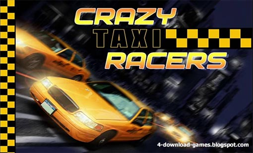لعبة متسابقين التاكسي المجنون Crazy Taxi Racers