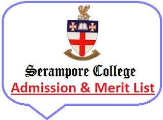 Serampore College Merit List