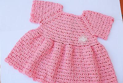 5 - Crochet Imagen Falda para bolero y canesú a crochet muy fácil y sencillo