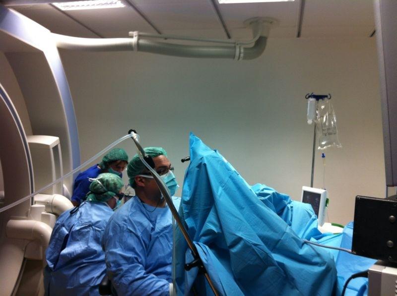 Cirugía de próstata en el hotel de Milán