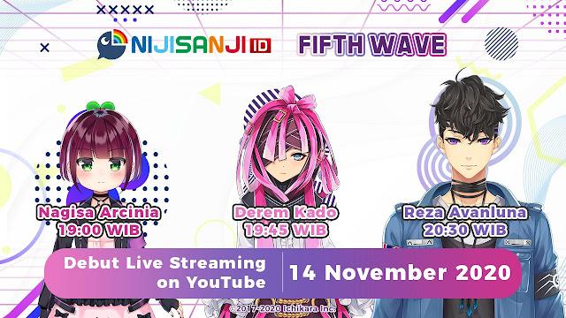 Nijisanji ID 5th Wave