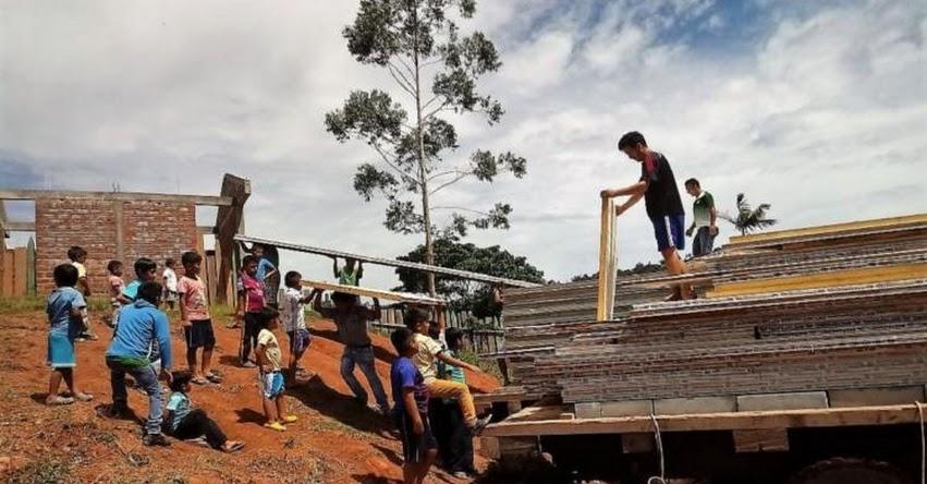 Entregan módulos a 82 colegios de Jornada Escolar Completa en la Región San Martín