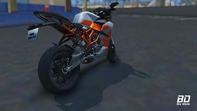 Download mod moto KTM RC200 para GTA San Andreas, GTA SA PC