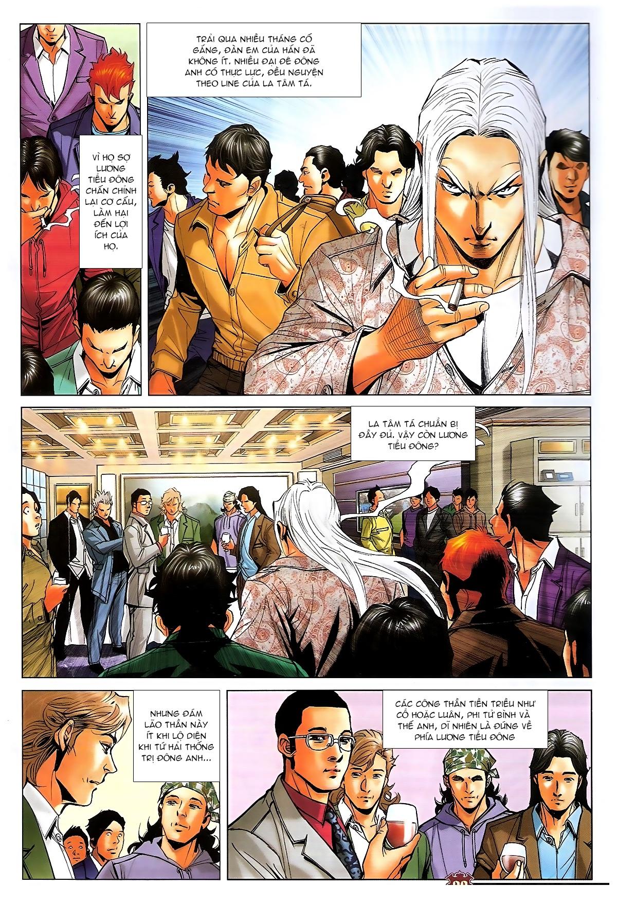 Người Trong Giang Hồ - Ngũ Hổ qui thiên - Chapter 1728: Bình phân Thiên Hạ - Pic 3