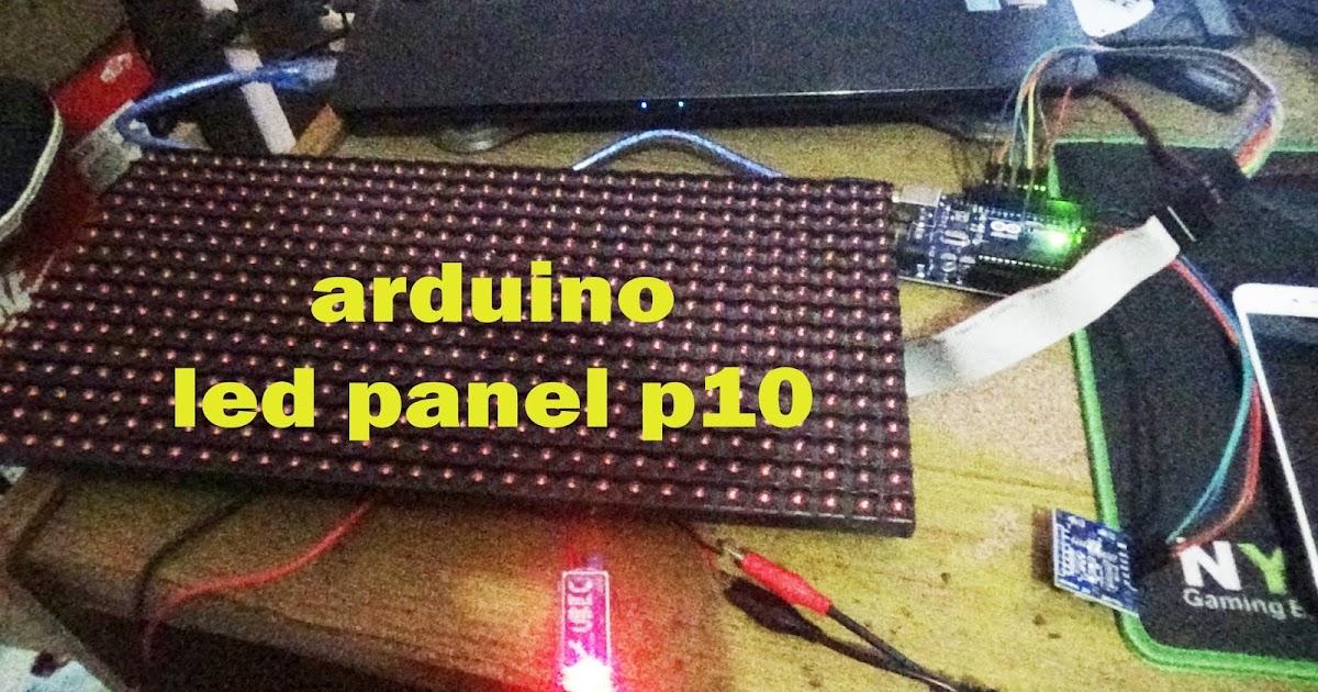 Membuat Moving Teks Dan Moving Sign Menggunakan Dmd Panel Led P10