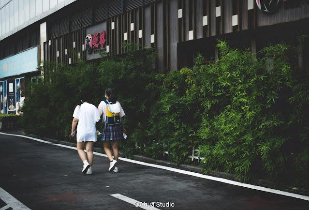 Passing pedestrians