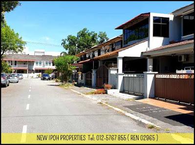 IPOH PENGKALAN JAYA 2STY TERRACE HOUSE FOR SALE (R07131) - RM 330K ( NEG)