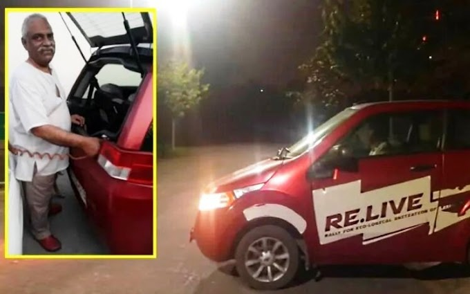 This Man From Noida Covered 1 Lakh Km In Less Than Rs 1 Lakh With His Electric Car