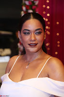 Mumaith Khan Spicy pics in Deep Neck White Gown at Zee Telugu Apsara Awards 2017 06.JPG
