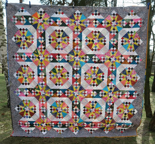 Test Card Quilt Free Pattern