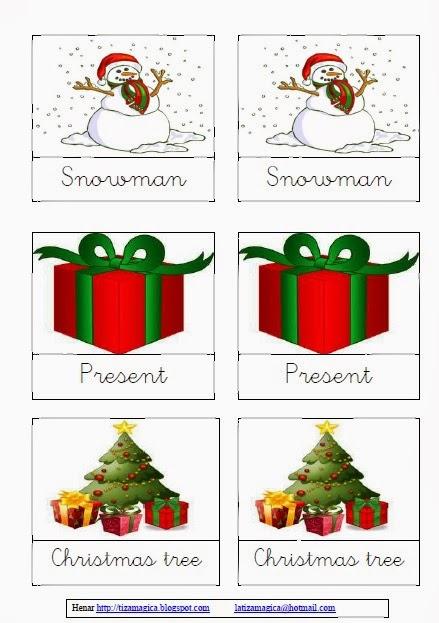 La Tiza Magica Juego En Ingles Para Navidad