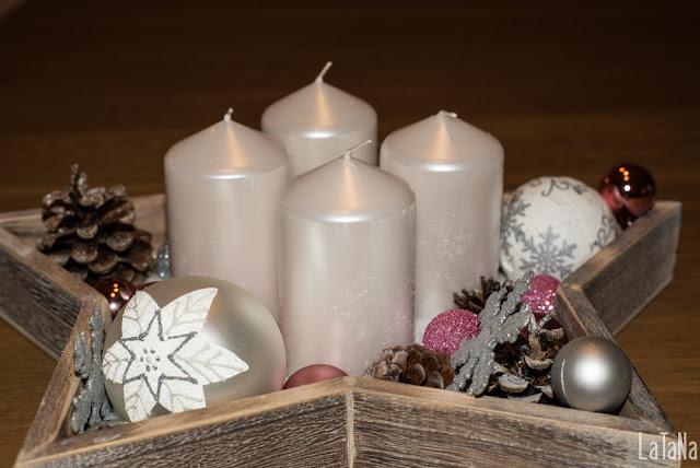 Kerzen, Stern, Weihnachten, Xmas Demo