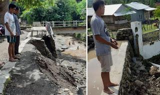 Warga Minta Sejumlah Tanggul Longsor dan Bronjong Jebol di Wilayah Asakota Segera Diperbaiki