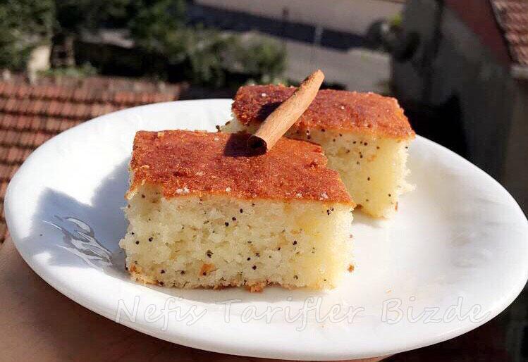 Nefis Haşhaşlı Kek Tarifi