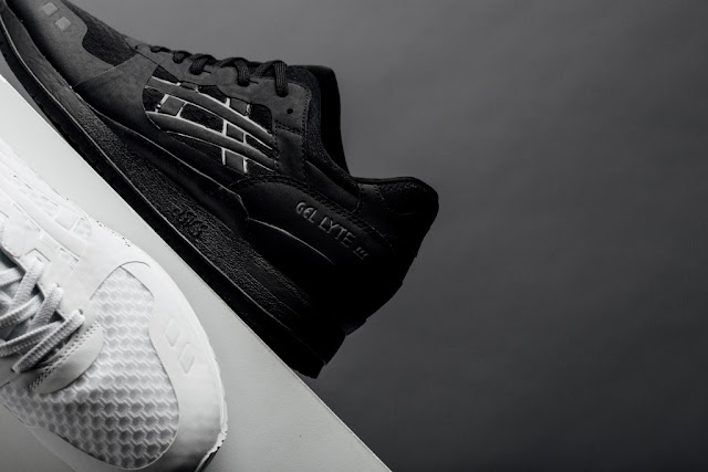 Asics Gel-Lyte-III-Features Boutique Triple Black