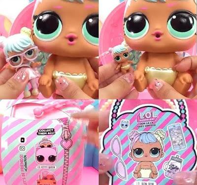 Сравнение большого пупса Лол с обычными куклами
