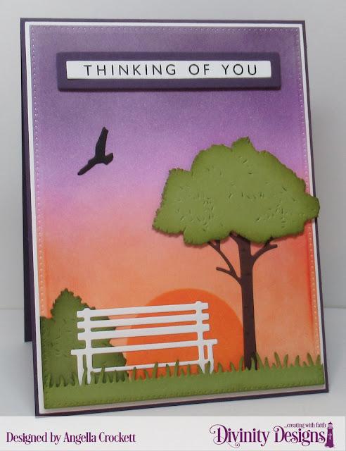 Divinity Designs LLC April Blessings Box; Card Designer Angie Crockett