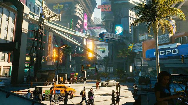 فريق تطوير لعبة Cyberpunk 2077 يؤكد أن عملية تصميم مدينة Night City تمت بمساعدة لعبة شهيرة جدا !