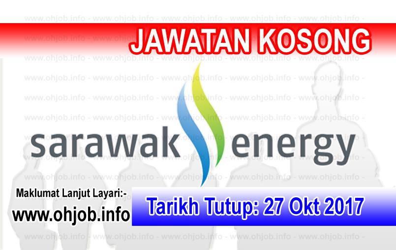 Jawatan Kerja Kosong Sarawak Energy logo www.ohjob.info oktober 2017