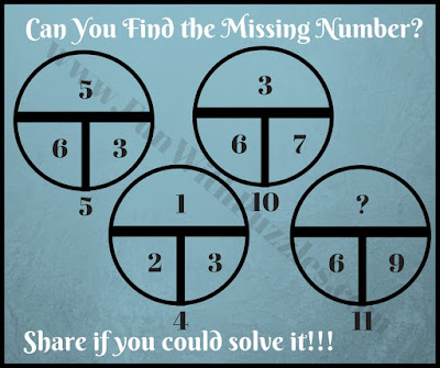 Very tough math circle brain teaser