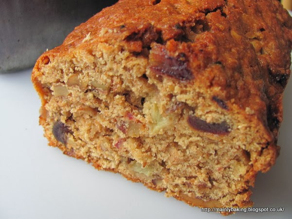 Mainly Baking Date Apple And Walnut Loaf