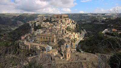 View of Ragusa Ibla from Ragusa Superiore.