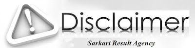 Disclaimer for Sarkari Result Agency