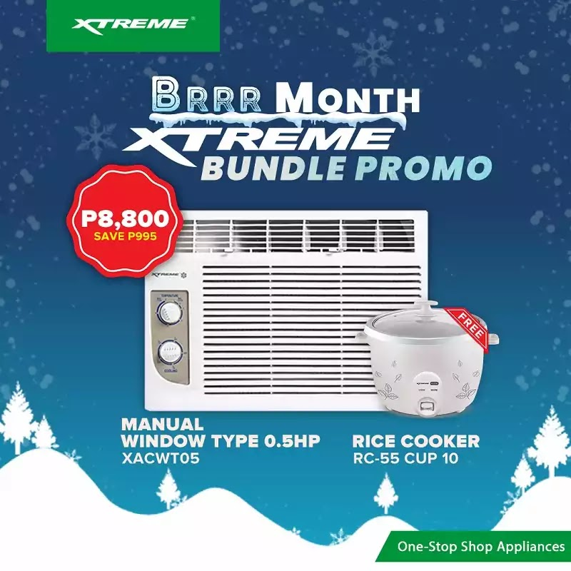 XTREME BRRR Month Aircon Bundle Promo