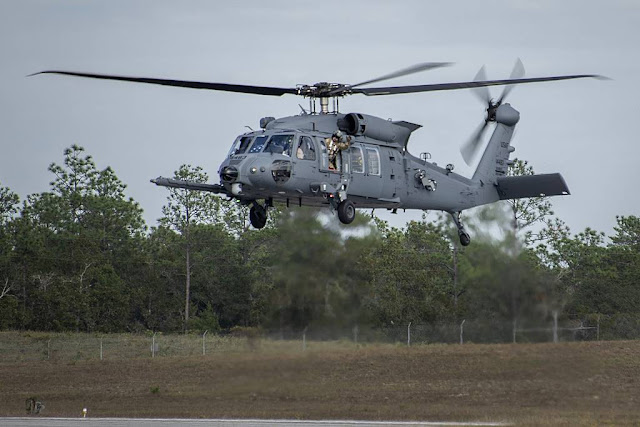 HH-60 helicopter arrives Eglin