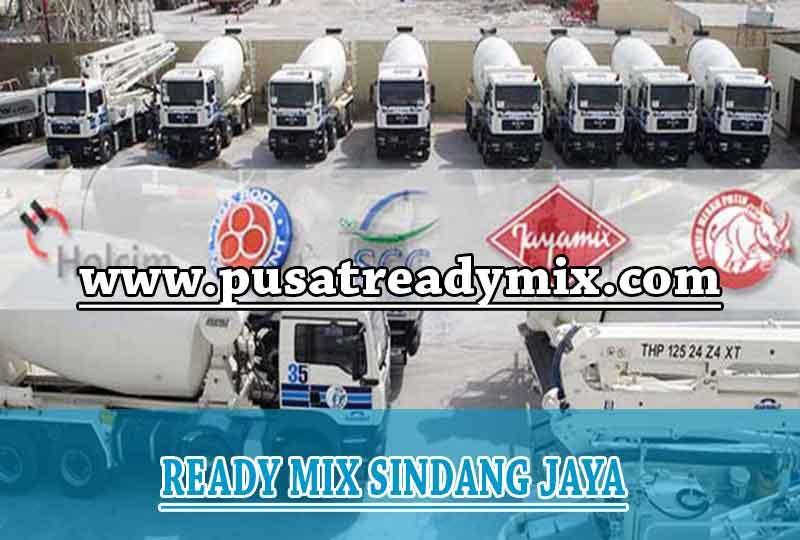 Harga Beton Ready mix Sindang Jaya 2019