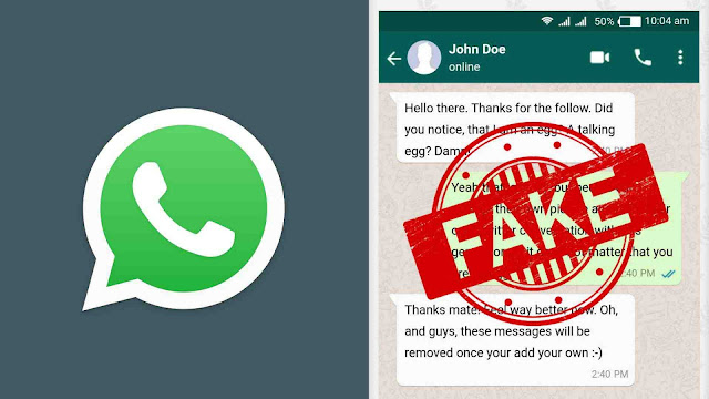 Create fake WhatsApp chats - iPhone and Android