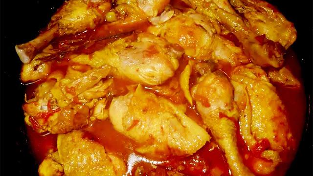 Cari Poulet (Curry Chicken La Reunion)