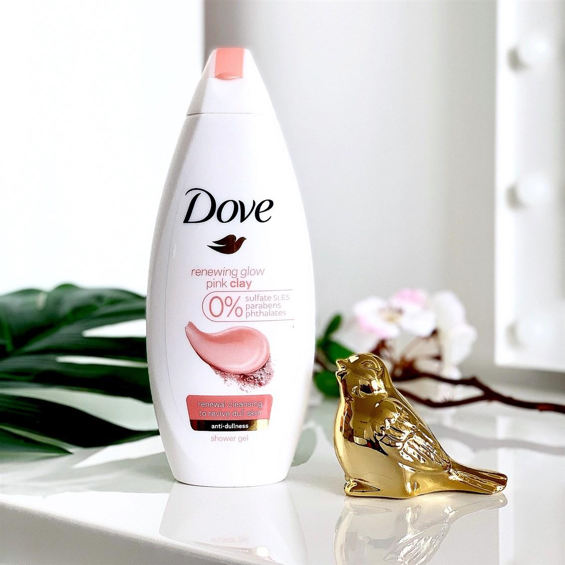 Dove żel pod prysznic Pink Clay opinie