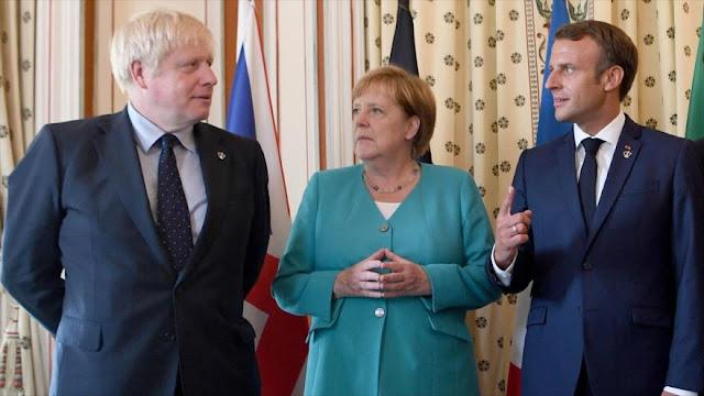 3 países de la UE lamentan nuevas restricciones de EEUU contra Irán