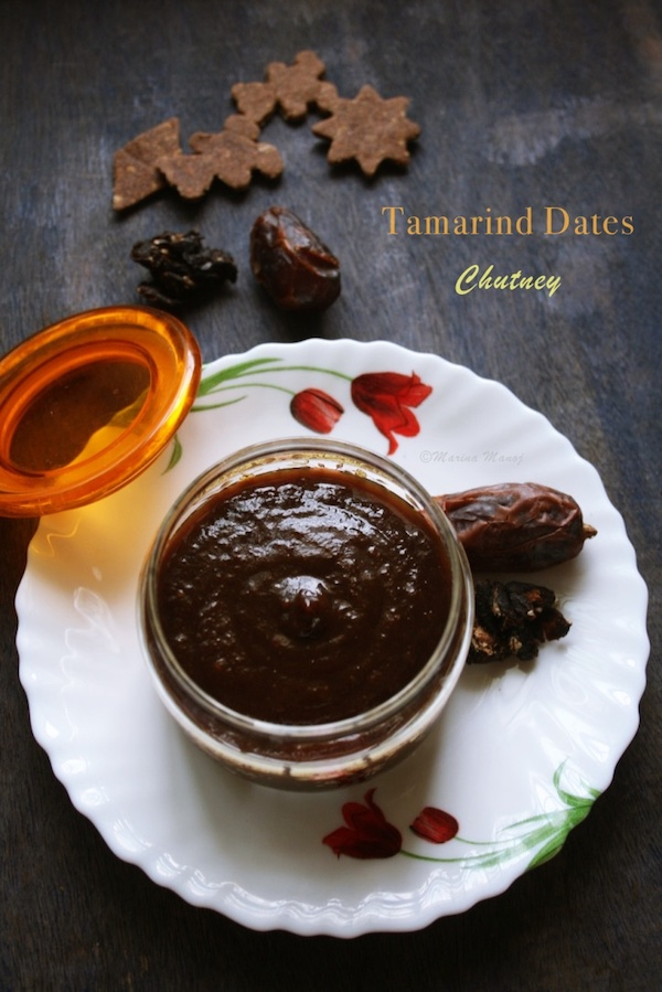 how to make Tamarind Dates Chutney | Sweet Chutney
