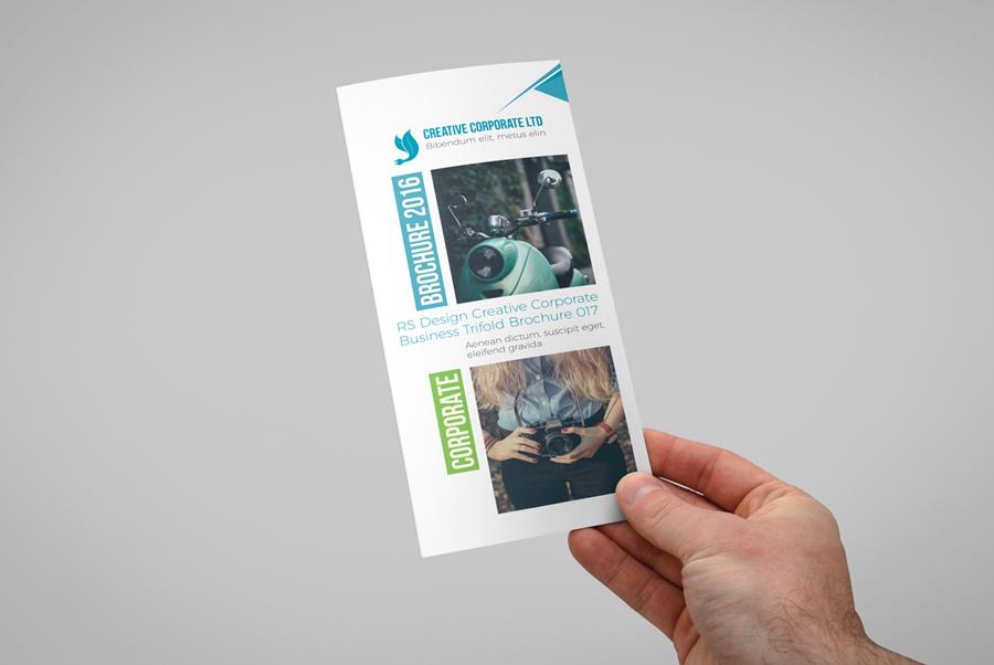 Muti Purposes Trifold InDesign Brochure Template - RONOUR DESIGN STUDIO