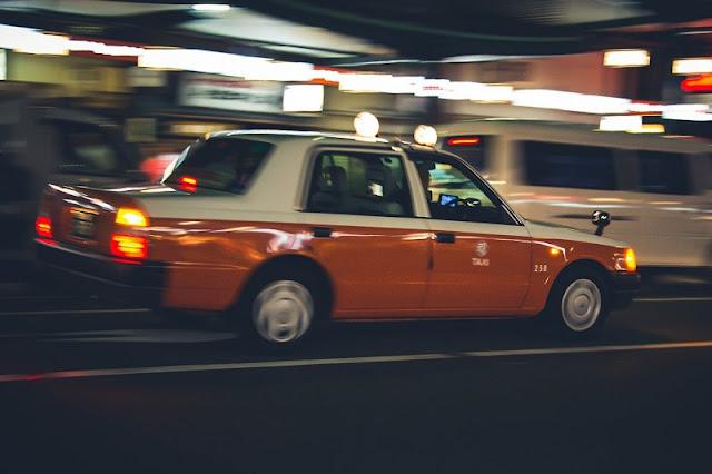 Taxi en Kioto