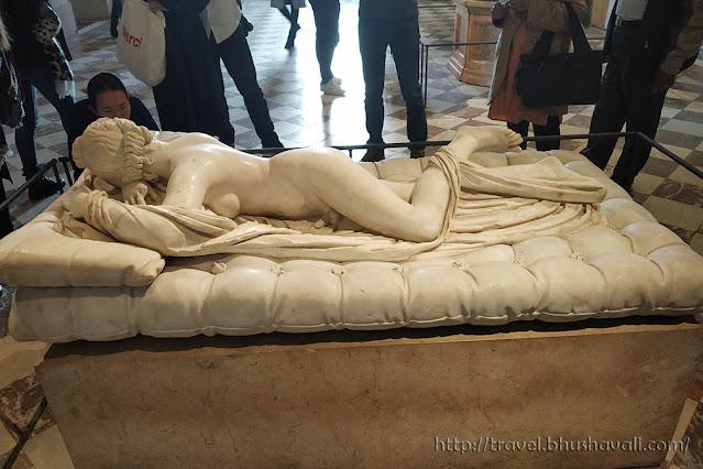 Hermaphrodite at Louvre Museum, Paris
