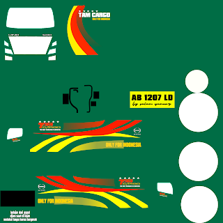 Livery Mod Bussid Truck Hino 500 NG Box