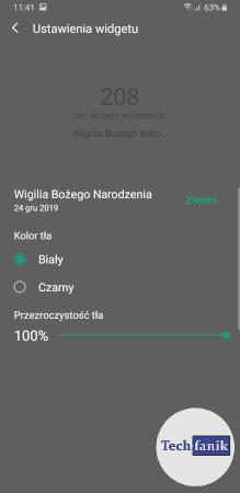 Jak dostosować widget?