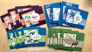 World Cardmaking Day: Free Mini Stamp-a-Stack Online Class ~ Stampin' Up! Designer Paper Sale ~ Whale Done ~ Snowflake Wishes ~ Merry Moose ~ www.juliedavison.com #stampinup #wcmd2020 #worldcardsendingweek2020 #SU2020WCMD