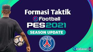 Formasi Terbaik PSG PES 2021