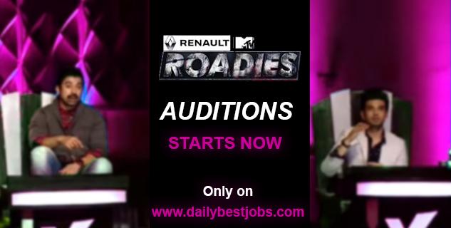 MTV Roadies X6 Audition Dates, Registration, Venues 2017 2018