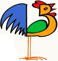 480 Gambar Kartun Ayam Jago Keren Gratis Terbaru