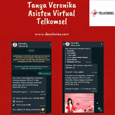 Tanya Veronika Asisten Virtual Telkomsel, Tanya Veronika Asisten Virtual Telkomsel, Tanya Veronika Asisten Virtual Telkomsel