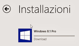 Installazione Windows 8.1