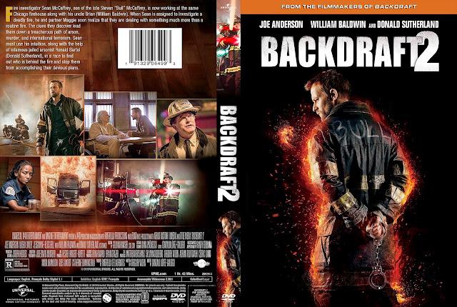 Backdraft 2 DVD DVD Cover